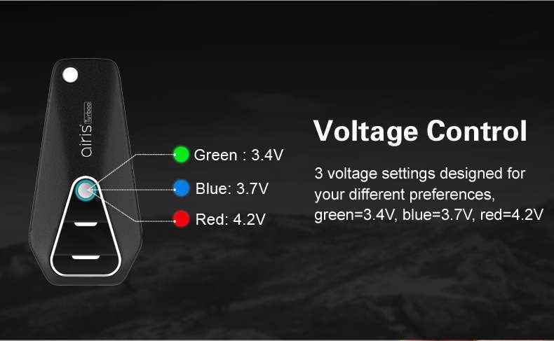 2018 Newest Aitistech 510 Thread CBD Battery Airis Turboo