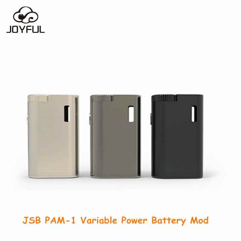Wholesale Best Vape Box Mod Battery JSB PAM-1 650 mAh Box Mod for CBD/THC/Wax Vaporizer Cartridge