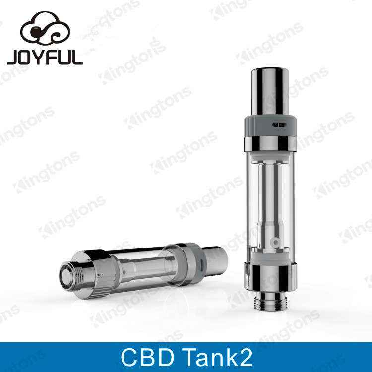 Top selling CBD oil atomizer kingtons CBD tank 2, CBD Cartridge ceramic 1.6ohm disposable CBD Tank
